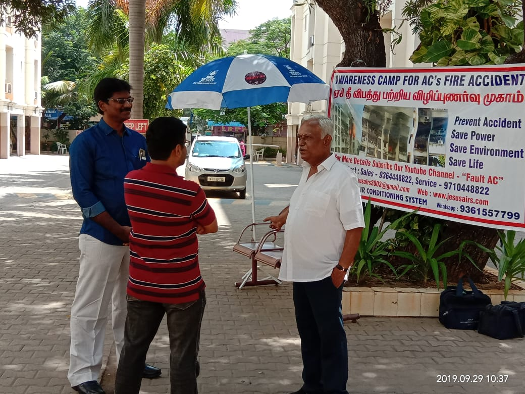 Chennai AC Services Awareness Session