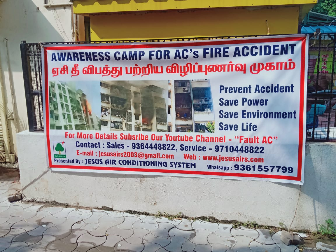 AC Maintenance Awareness Session Chennai